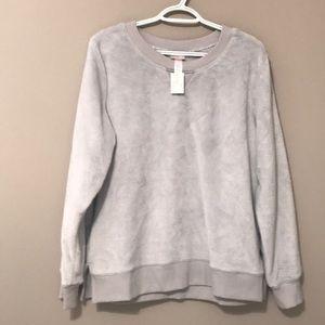 Wondershop large plush ladies sweatshirt.